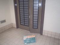 大野城市 F様邸 玄関ドア塗装工事