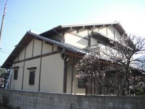 大野城市 F様邸 外壁塗装工事 施工前